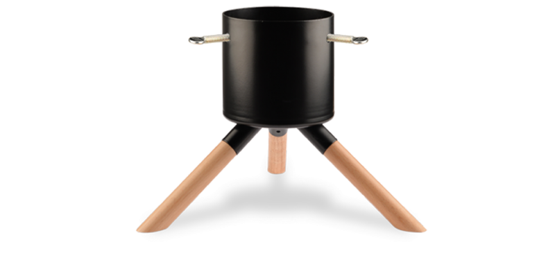 Black Tabletop Stand